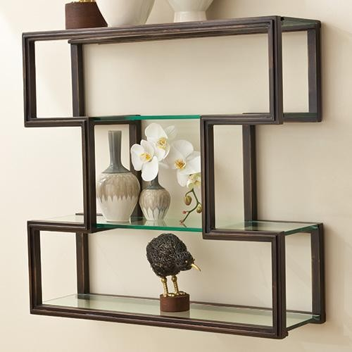 Wall Shelf Home Decor : Global views one up wall shelf traditional display and