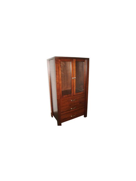 Creative Home Furnishings - Boxwood Furniture - Boxwood Wardrobe / Armoire