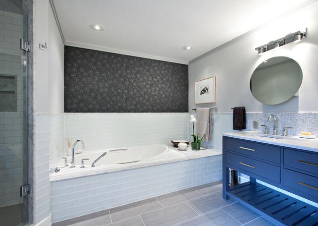 Miriam Crescent contemporary-bathroom