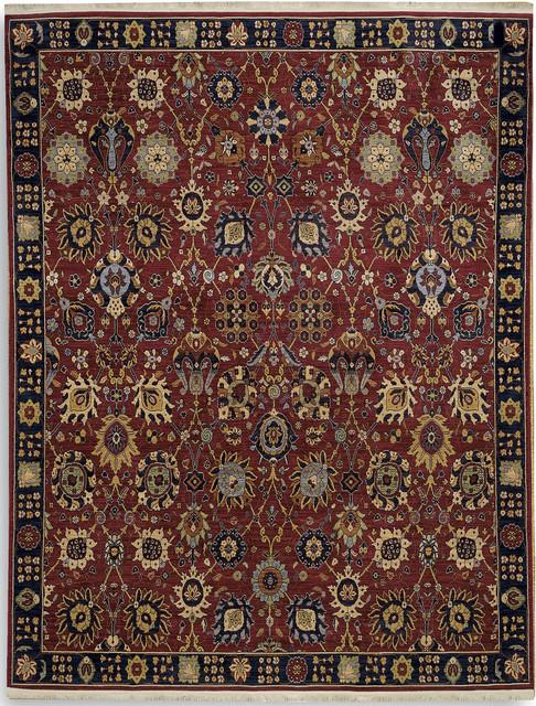 "Karastan English Manor 2120-00502 (Cambridge) 8' x 10'5"" Rug traditional-rugs"