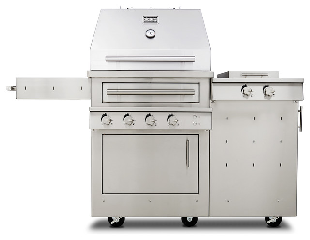 Kalamazoo Hybrid Fire Grill - K500HS contemporary-outdoor-grills
