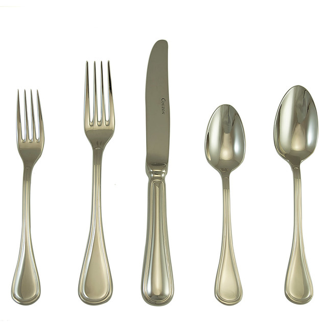 Lyrique Place Setting Set Of 5 Modern Flatware And Silverware Sets By