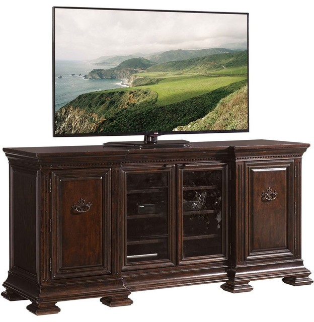 Sligh Prestonwood Yorkshire Media Console - Traditional - Entertainment Centers And Tv Stands ...