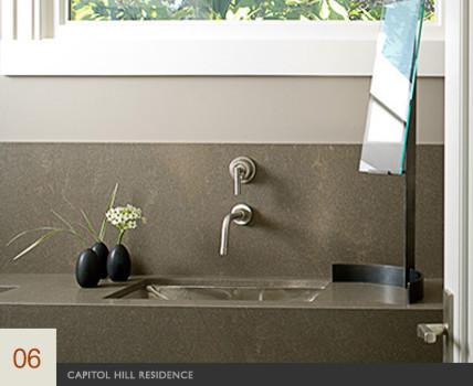 Capitol Hill Residence modern-bathroom