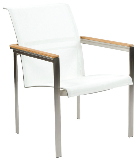 Tivoli Dining Armchair By Kingsley Bate Modern Outdoor Dining Chairs