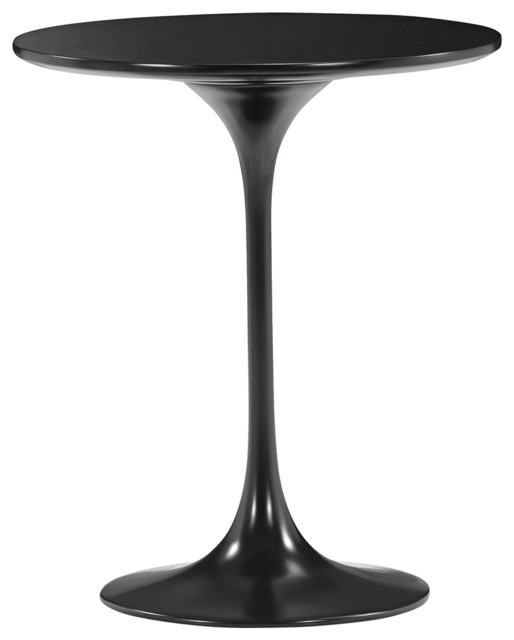 Zuo Wilco Glossy Black Side Table contemporary-coffee-tables