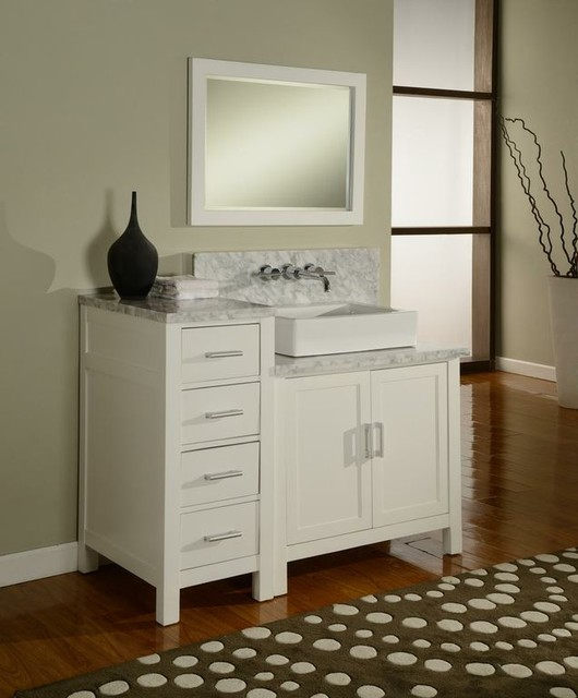 J & J International Double Sink Vanities traditional-bathroom-vanities-and-sink-consoles