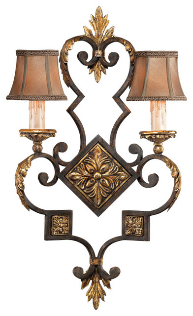 Castile Sconce, 234350ST traditional-wall-lighting