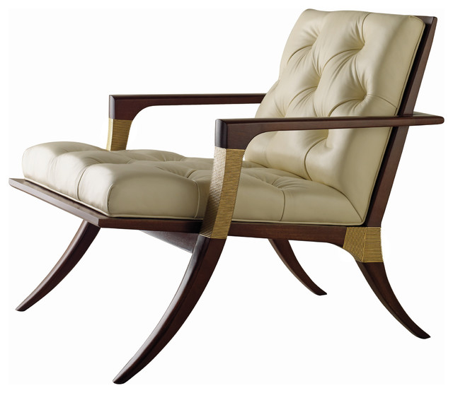 Athens Lounge Chair - Tufted - Baker Furniture - modern - chairs ...