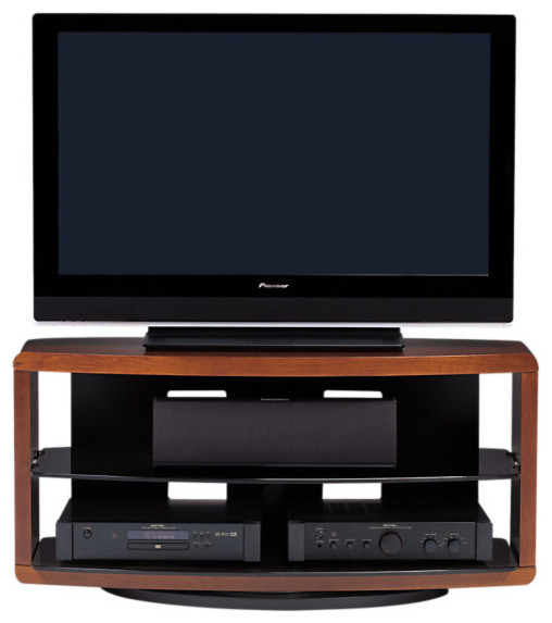 Valera TV Stand 9724, Natural Cherry contemporary-entertainment-centers-and-tv-stands