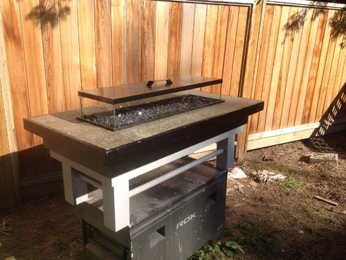 Patio ethanol fire pit in richmond bc for sale for Ethanol outdoor fire pit