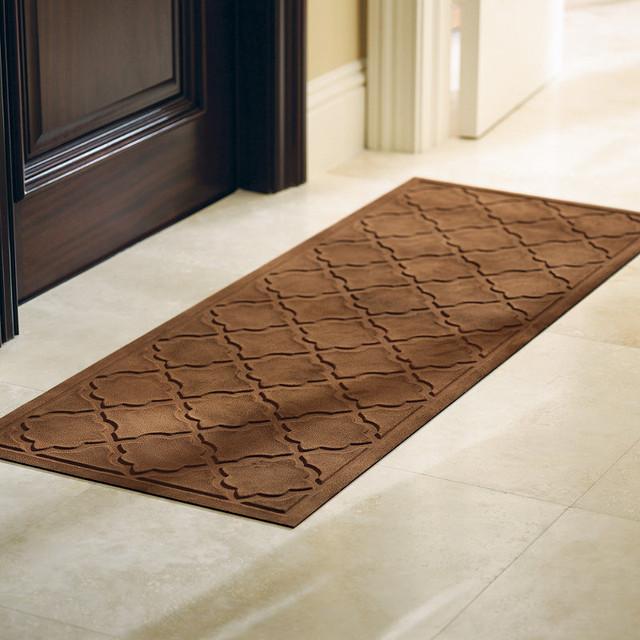 Doormats For Double Doors. Top Rubber And Coir Half Round