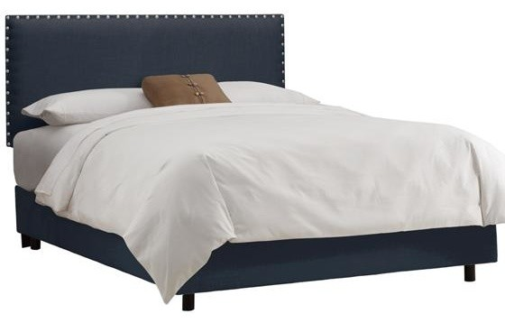 Custom Rowan Upholstered Bed traditional-beds
