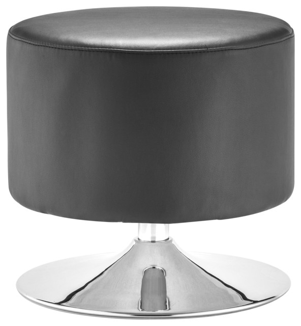Plump Ottoman Black contemporary-footstools-and-ottomans