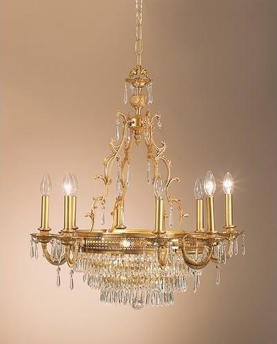 Renaissance 12 Light Chandelier modern-chandeliers