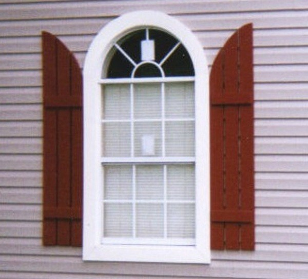 Half round window trim contemporary windows other for Contemporary exterior window trim