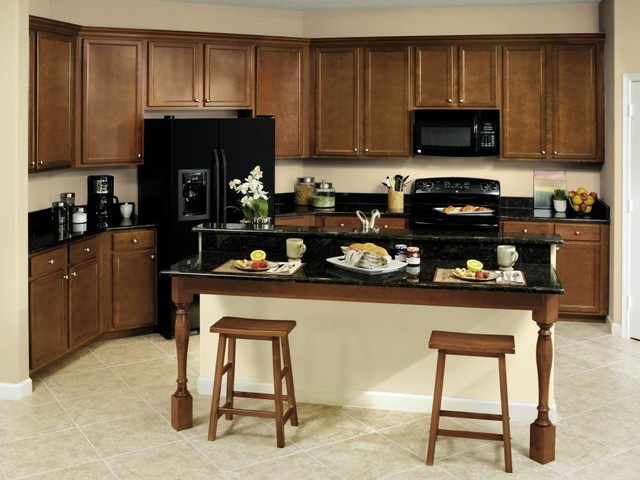 Aristokraft Eclectic Kitchen Cabinetry Miami By Ervolina