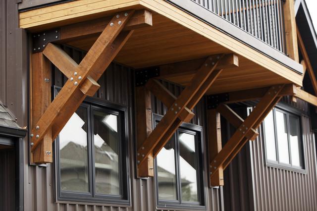 Bracket Traditional Exterior Edmonton By Habitat Studio