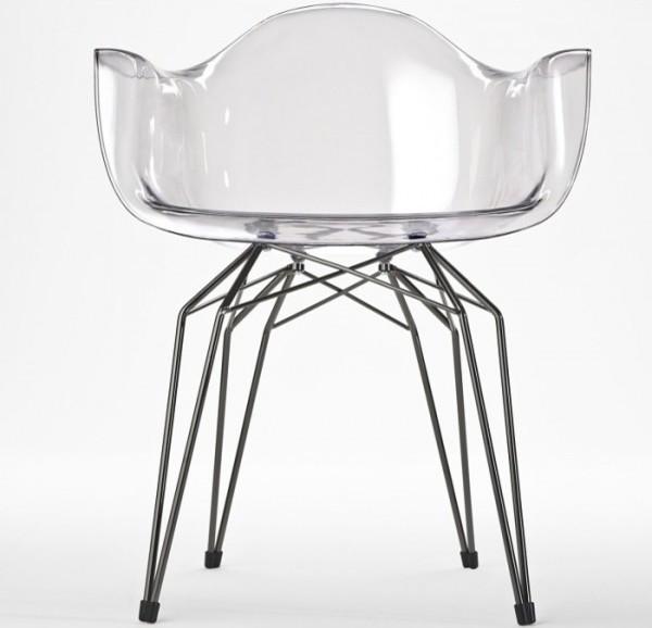 The Diamond Arm Chair modern-living-room-chairs