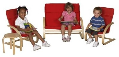 ECR4KIDS 4 Piece Combo Comfort Set modern-baby-and-kids