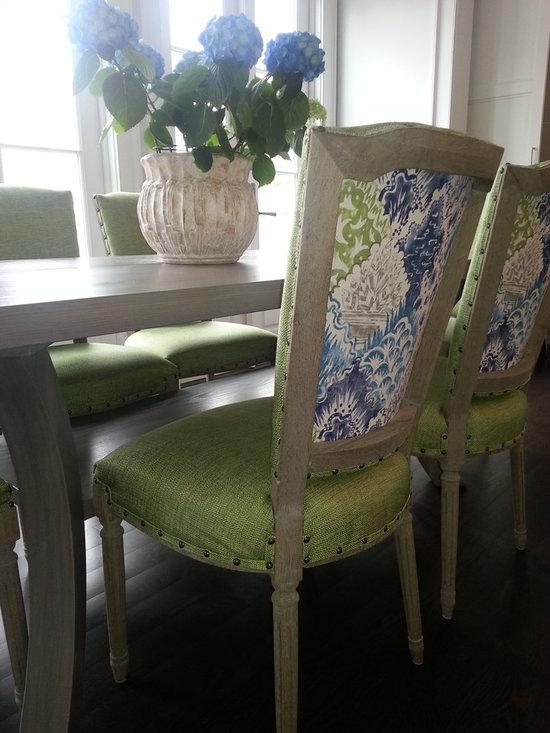 Custom Upholstered Chairs -