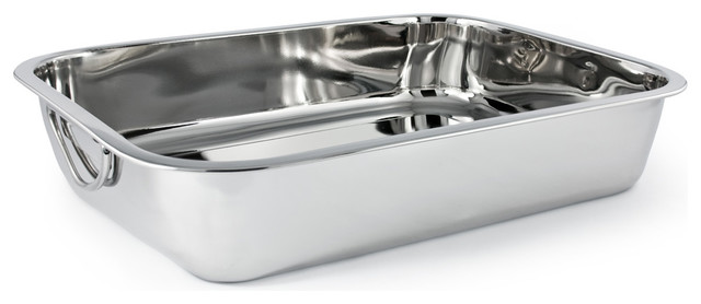 12 X 9 5 X 2 Stainless Steel Lasagna Pan Contemporary