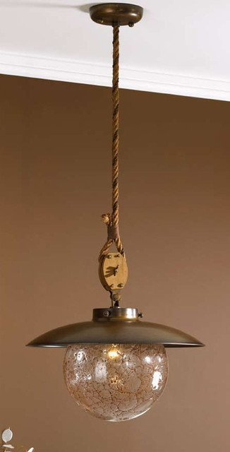 Fredeco Nautical Pendant tropical pendant lighting