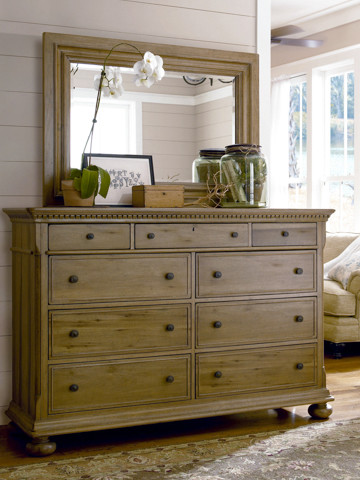 Paula Deen Aunt Peggy's Drawer Dresser in Oatmeal traditional-dressers-chests-and-bedroom-armoires