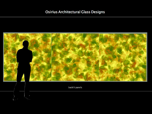 Backlit Architectural Glass Panels modern-screens-and-room-dividers