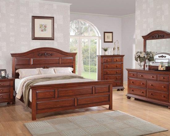"Austin Gray ""Montana"" Collection 6-piece Queen Bedroom Set -"