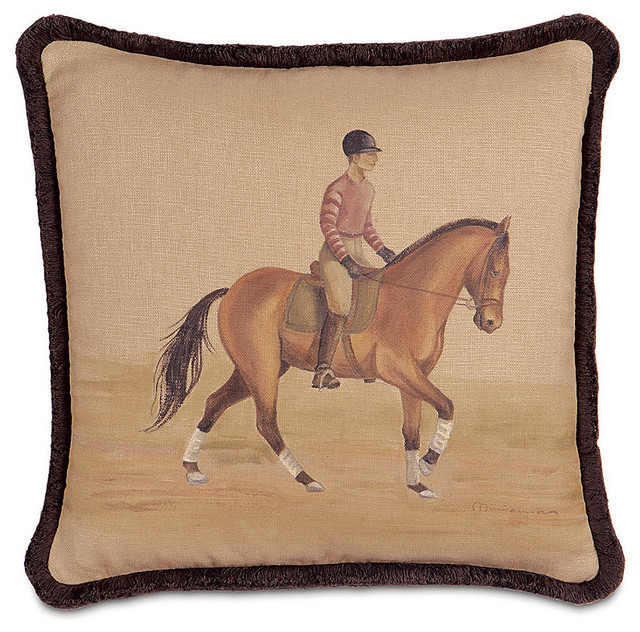 Canter Decorative Pillow - Traditional - Decorative Pillows - by FRONTGATE
