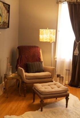 Bedroom Reading Corner eclectic-bedroom