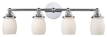 ELK Lighting Newburgh 4-Light Bathroom Vanity Light 11273/4 - 30W in. modern-bathroom-lighting-and-vanity-lighting