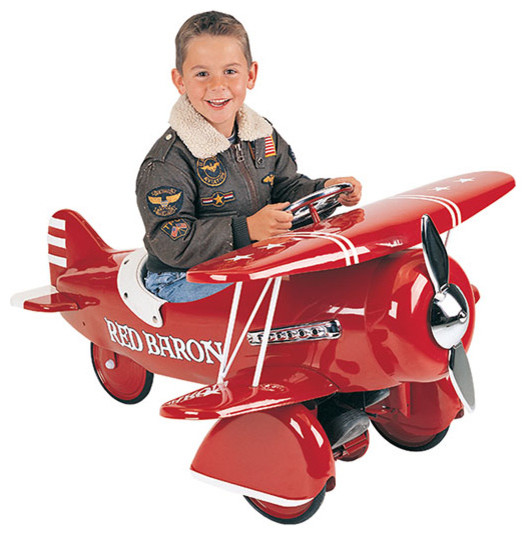 Red Baron Pedal Plane traditional-kids-toys