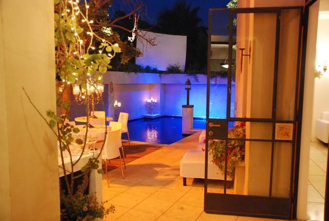 a mediterranean house mediterranean-patio