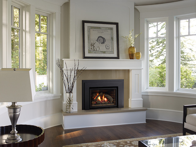 Regency Liberty L390e Gas Fireplace Insert Traditional Indoor Fireplaces Vancouver By