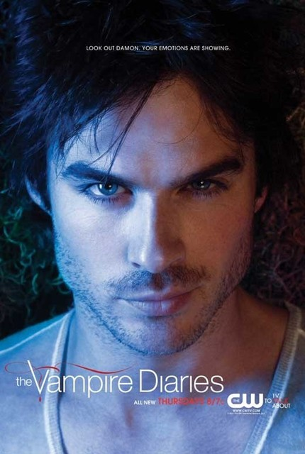 The Vampire Diaries (TV) 11 x 17 TV Poster - Style AB prints-and-posters
