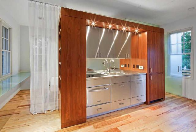 Garage Apartment Remodel - Modern - other metro - by David Wilkes Builders