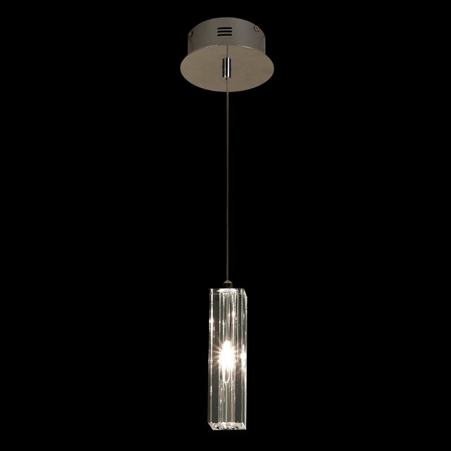solo crystal square cut pendant modern pendant lighting by