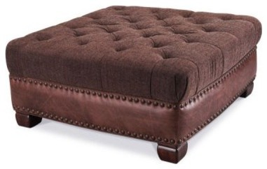 Aico Monte Carlo II Collection Square Cocktail Ottoman modern-footstools-and-ottomans