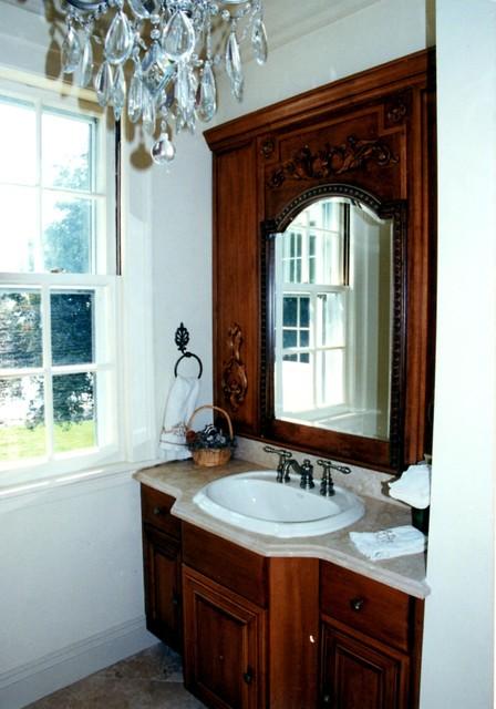 Tudor House In Swampscott Traditional Bathroom