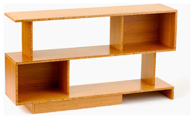 Bamboo Credenza - Modern - Bookcases - by Stylo Furniture and Design