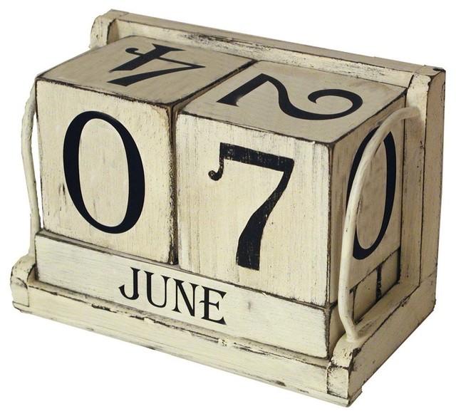 Ohio Wholesale Shabby Chic Perpetual Calendar