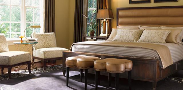 Lexington Home Brands st tropez bedroom scene.jpg contemporary-bedroom