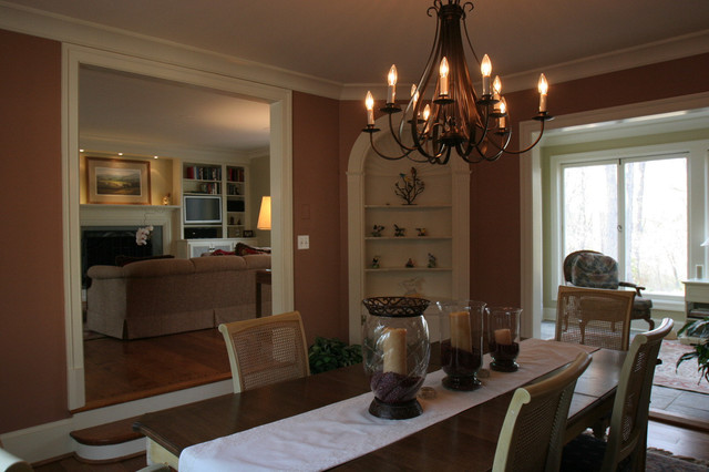Blue Ridge Road Area traditional-dining-room
