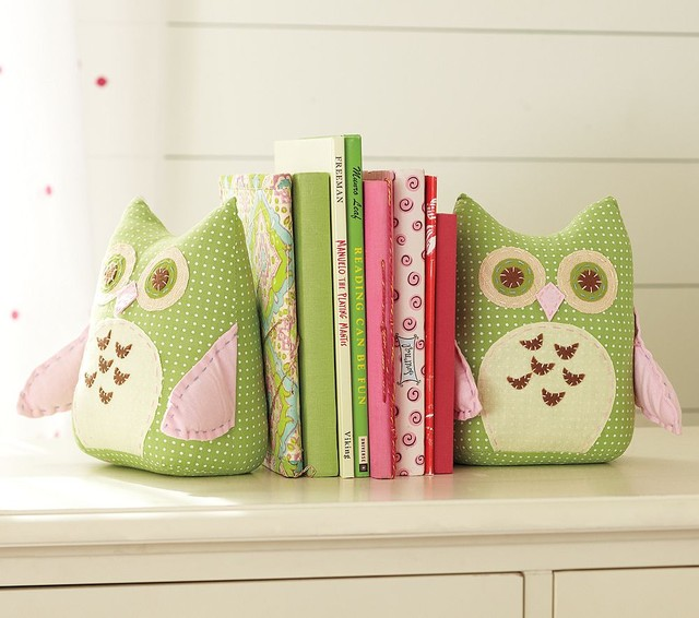 Owl Bookends contemporary nursery decor