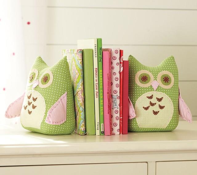 Owl Bookends contemporary-nursery-decor