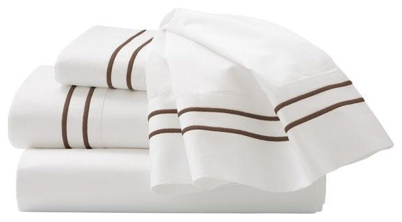 Home Decorators Collection Embroidered Sheet Set traditional-sheets