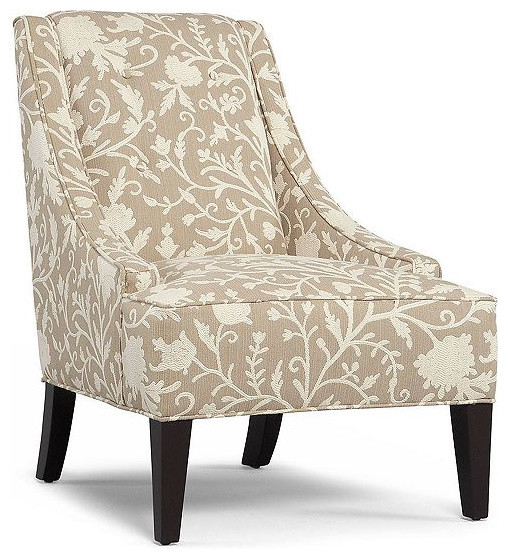 martha stewart fabric living room chair lansdale accent contemporary armchairs and accent. Black Bedroom Furniture Sets. Home Design Ideas