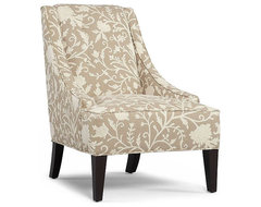 Martha Stewart Fabric Living Room Chair, Lansdale Accent contemporary-chairs